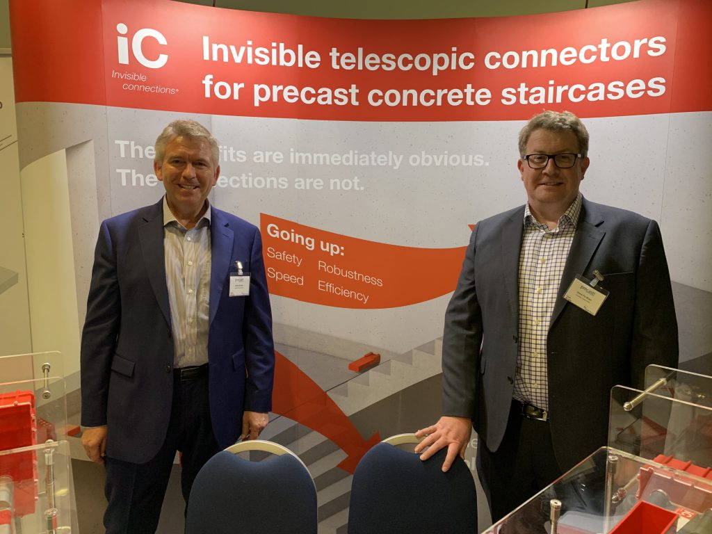 The Invisible Connections team at PRECAST2019