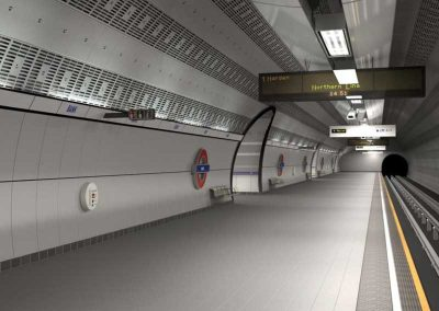Bank Station Capacity Upgrade, City of London EC4