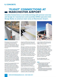 Offsite Magazine (May / June 2019) 'Flight' Connections at Manchester Airport 5th June 2019