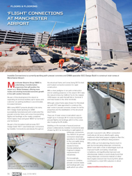 Modern Methods of Construction (MMC) magazine (July 2019) Flight Connections at Manchester Airport 15th July 2019