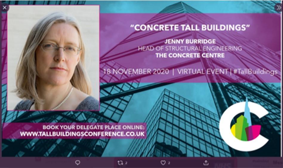 Jenny Burridge Presentation for Tall Buildings Conference 2020